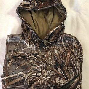 Boy's Youth RealTree/ Under Armour Hoodie L